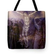 Defenders Of The Faith...after Vanni Tote Bag