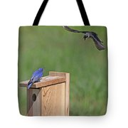 Defending The Nest Tote Bag