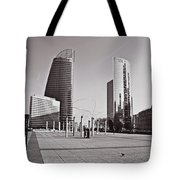 Defense Architecture Tote Bag