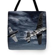 Defensive Split  Tote Bag