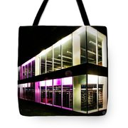 Defiance College Library Night Time Tote Bag