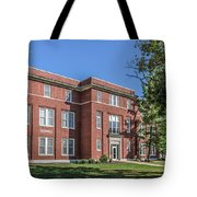 Defiance College Tenzer Hall Tote Bag