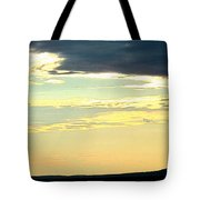 Defined Horizon Tote Bag