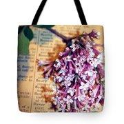 Defining Lilacs Tote Bag
