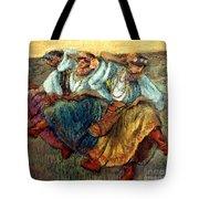 Degas: Dancing Girls, C1895 Tote Bag