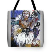 Degas Girl Tote Bag
