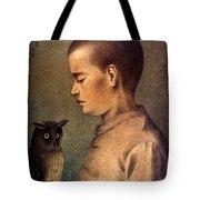 Degouve: Child & Owl, 1892 Tote Bag