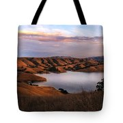 Del Valle At Sunset Tote Bag