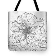Lush Blossom Tote Bag