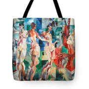 Delaunay: City Of Paris Tote Bag