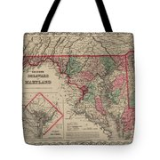 Delaware And Maryland Tote Bag