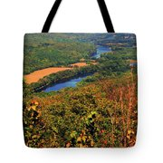Delaware River From The Appalachian Trail Tote Bag