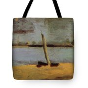 Delaware Riverscape From Gloucester Tote Bag