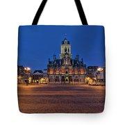 Delft Blue Tote Bag