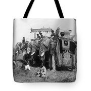 Delhi: Elephants Tote Bag