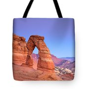 Delicate Arch Sunset Tote Bag