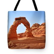 Delicate Arch The Arches National Park Utah Tote Bag