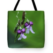 Delicate Blooms Of The Giant Alligator Flag Tote Bag