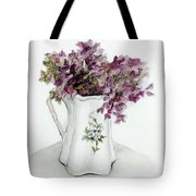 Delicate Bouquet Tote Bag