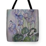 Delicate Cyclamen Tote Bag