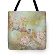Delicate Magnolias Tote Bag