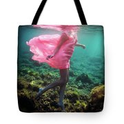 Delicate Mermaid Tote Bag