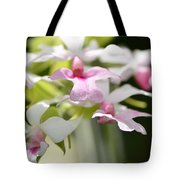 Delicate Orchids By Sharon Cummings Tote Bag