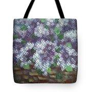 Delicate Perfumed Lilacs Tote Bag