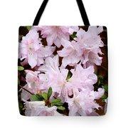Delicate Pink Azaleas Tote Bag by Carol Groenen