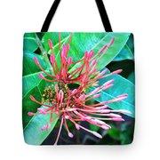 Delicate Pink Flower Tote Bag
