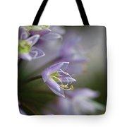Delicate Purple Flowers Tote Bag