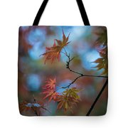 Delicate Signs Of Autumn Tote Bag