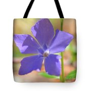 Delicate Touch In Square Tote Bag