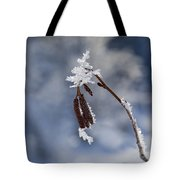 Delicate Winter Tote Bag