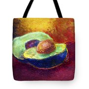 Delicious, A Buttery Avocado Tote Bag