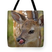 Delicious Deer Tote Bag