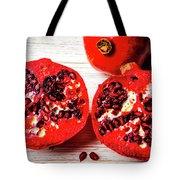 Delicious Pomegranate Tote Bag