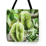 Delicious Star Fruit Tote Bag