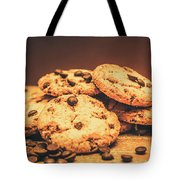 Delicious Sweet Baked Biscuits  Tote Bag