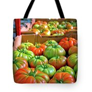 Delicious Tomatoes Tote Bag