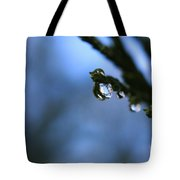 Delighted By Droplets Tote Bag