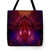 Delightful Debi's Descent Into Darkness Tote Bag