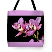 Delightful Orchid Tote Bag