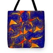 Delissianum V1 - Dancing Fire Tote Bag