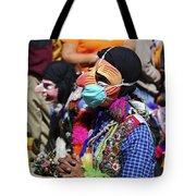Deliver Us From Swine Flu Tote Bag