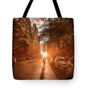 Delivery Man Tote Bag