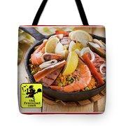 Delivery Menu Tote Bag