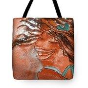 Della - Tile Tote Bag