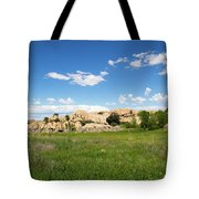 Dells And Lake Tote Bag
