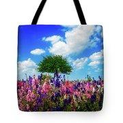 Delphinium Daydreams Tote Bag
